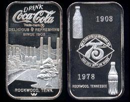WWM-89 Rockwood, Tn.Coke Silver Artbar