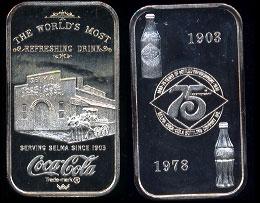 WWM-90 Selma, Al.Coke Silver Artbar