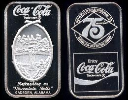WWM-91 Gadsden, Al. Coke Silver Artbar