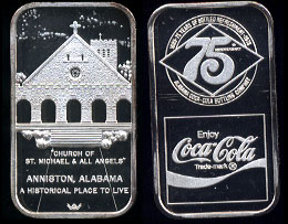WWM-92 Anniston, Al. Coke Silver Artbar
