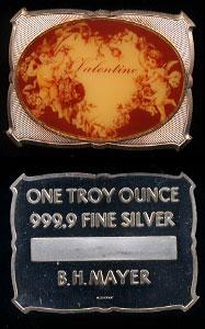 BHM - 36 (1977) Valentine Silver Art Bar