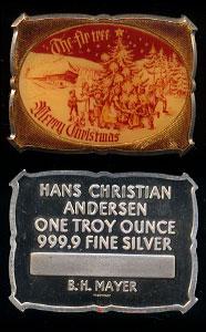 BHM - 3 (1976) Christmas Silver art Bar