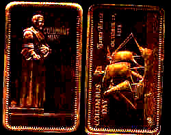 CM-1B3 Santa Maria Bronze Bar