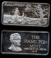 HAM-1 Halloween 1973 Silver Artbar