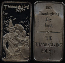 HAM-209 Thanksgiving 1976 Silver Artbar
