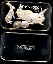 MAD-154 Easter 1976 Silver Art Bar