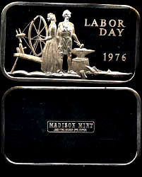 MAD-155 Labor Day 1976 Silver Artbar