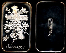 MAD-168 Easter 1977 Silver Art Bar