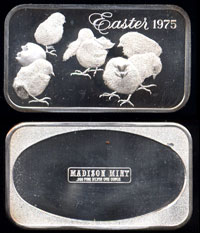 MAD-26 Easter 1975 Silver Artbar