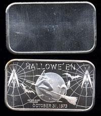 MAD-30V Hallowe'en 1973 Silver Artbar
