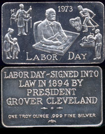 MEM-10 1973 Labor Day Silver Artbar