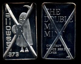 MEM-96C Halloween 1973 (Cancelled) Silver Artbar