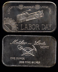 MLM-41 (1973) Labor Day Silver Artbar