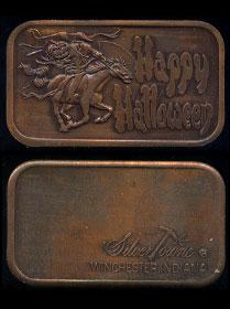 ST-27V3 Happy Halloween Brass Artbar