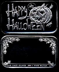 CM-16V (1984) Happy Halloween  Silver Artbar