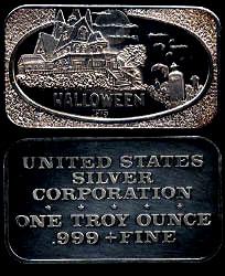 USSC-236 (1975) Halloween Silver Artbar