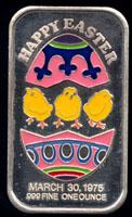 CEM-28EN Easter 1975 Silver Artbar