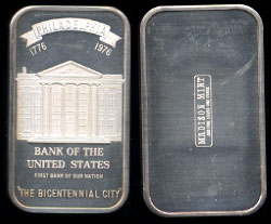 MAD-44 Bank of the United States Silver Artbar