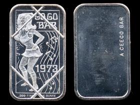 CEM-46C (1973) Go Go Bar Silver Artbar