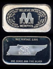 CRS-2 (1974) Believe in Memphis Silver Artbar
