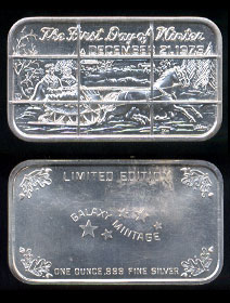 GAL-1C (1973) The First Day of Winter Silver Artbar