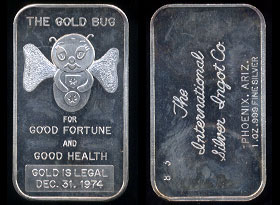 ISIC-11 (1975) The Gold Bug Silver Artbar