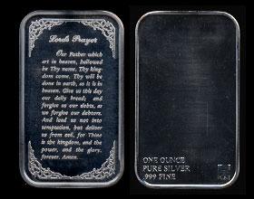 ACG-1 Lords Prayer Silver Artbar