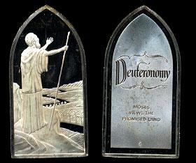 Franklin Mint  DeuteronomySilver Artbar