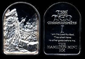HAM-22 First Commmandment Silver Artbar