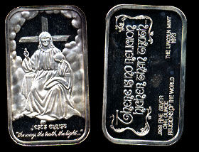 LIN-2 Jesus Christ Silver Artbar