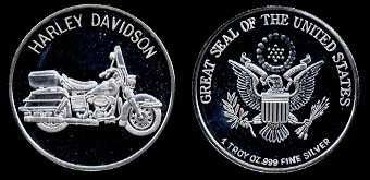 Silver Artbars Depicting Modes Of Transportation