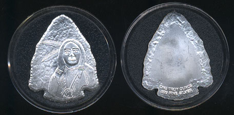 Silver Arrowhead 1 Troy Ounce