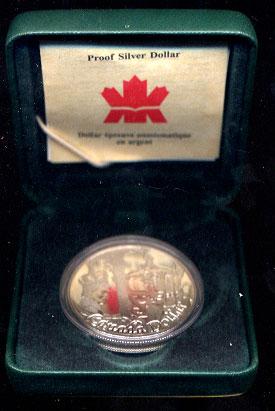 Canada Maple Leaf Silver 5 Coins