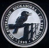 Australia Kookaburra Silver Coins