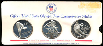 Official U.S. Olympic Team Commemorative Medals