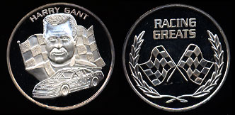 Harry Grant Racing Greats Silver Art Round