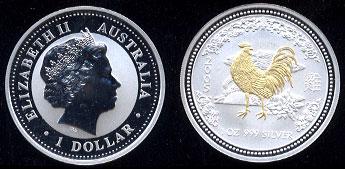 Australian Lunar Year Silver Coins