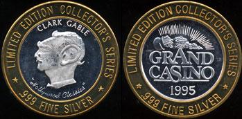 "Grand Casino 1995 Clark Gable ""Hollywood Classics"""