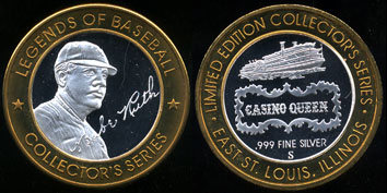 Babe Ruth Limited Legends of Baseball Series Casino Queen