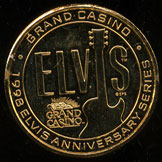 Grand Casino Elvis Commemorative Set 1999
