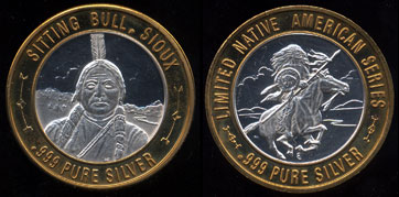 Chief Sitting Bull Sioux Limited Native American Series