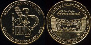 Grand Casino Tunica 1997-1998 Elvis Presley Series