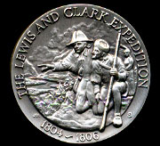 The Lewis & Clark Expedition Longines Silver Art Round