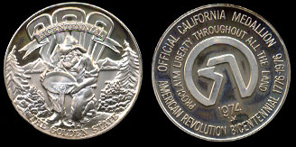 1974 The Golden State 200 Bicentennial Prospector