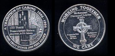 Admission Day Dala 25th Silver Anniversary Illiuokalani - Hawaii Silver Jubilee 1959 - 1984 Bronze Round