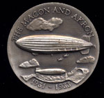 1931-1933 The Macon and Akron Longines Silver Art Round