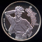 Jughead Cartoon Celebritites Silver Round