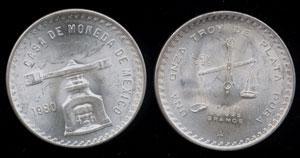 Mexico 1980 Onza