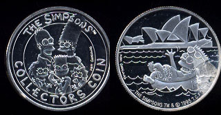 The Simpsons Collectors Coin