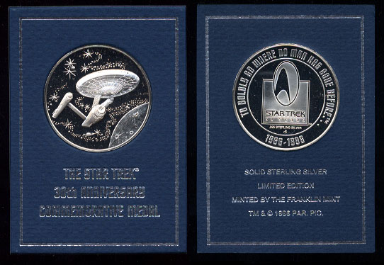 Space Related Silver Art Round Coins Medals